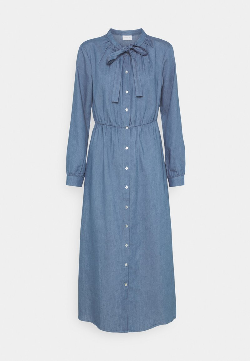 Vila - VIBASTA MAXI DRESS - Denim dress - medium blue denim