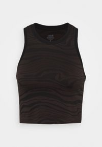 Casall - SEAMLESS MELTED  - Top - melted brown - 4