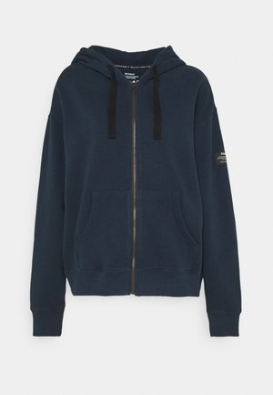 SEISER HOODIE WOMAN - Zip-up hoodie - deep navy