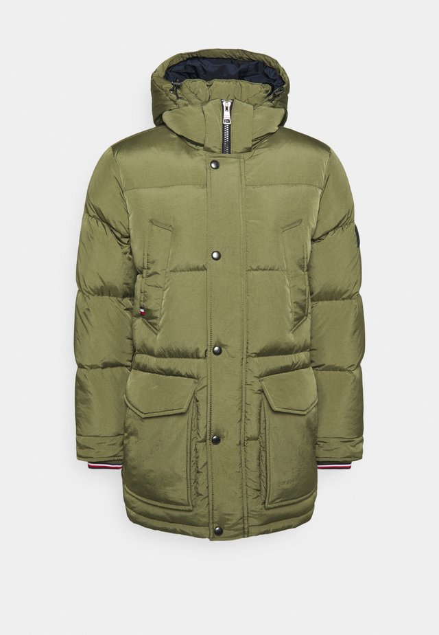 Down coat - green