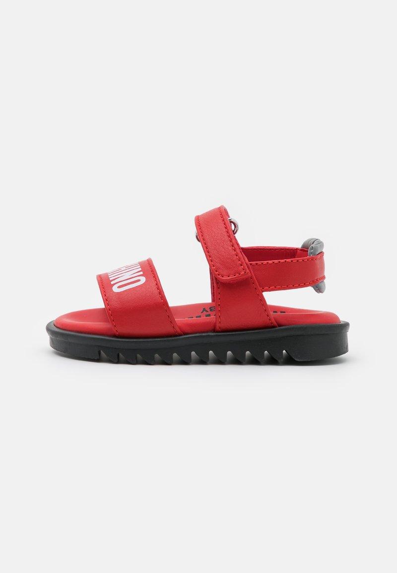 MOSCHINO - UNISEX - Sandals - red