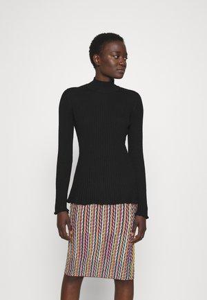 MOCK NECK - Long sleeved top - black beauty