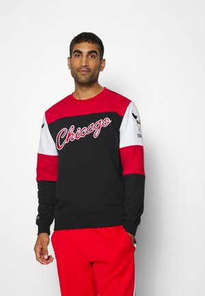 NBA CHICAGO BULLS PERFECT SEASON CREW - Club wear - black
