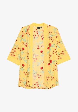 NLFJILL KIMONO - Cape - pale marigold