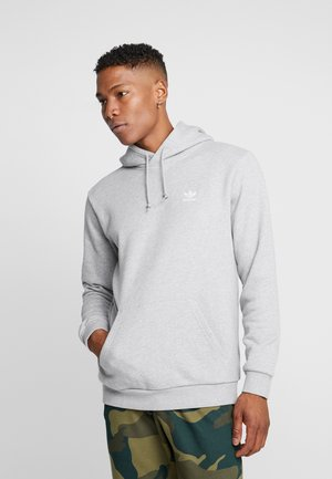 ESSENTIAL HOODY UNISEX - Bluza z kapturem - medium grey heather