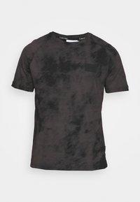 Calvin Klein - CLOUD - Print T-shirt - black - 3