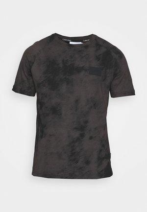 CLOUD - T-shirt med print - black