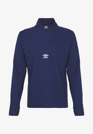 TRAINING MID LAYER DRILL - T-shirt à manches longues - medieval blue