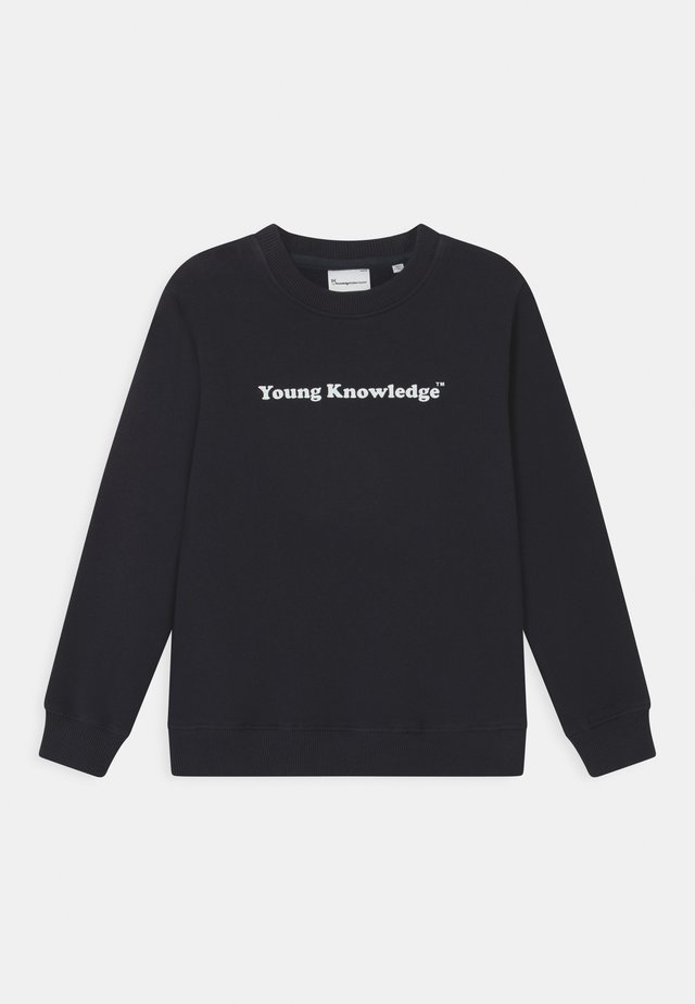 LOTUS YOUNG KNOWLEDGE - Sweatshirt - total eclipse