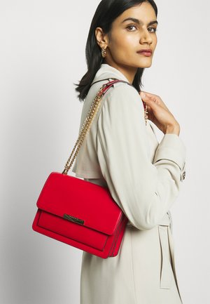 JADELG GUSSET - Across body bag - bright red