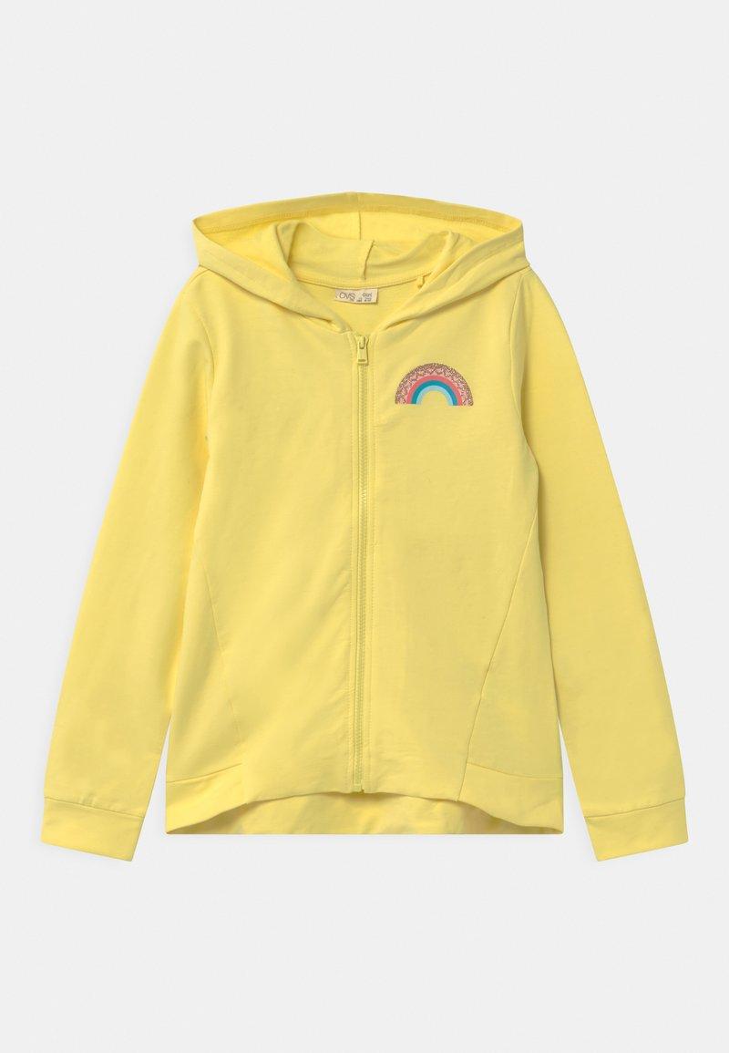 OVS - HOODY - Zip-up hoodie - limelight