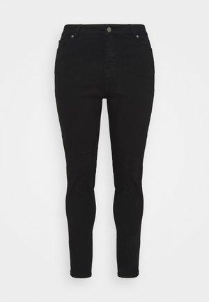 LUCY HIGH WAIST SKINNY - Jeans Skinny Fit - black