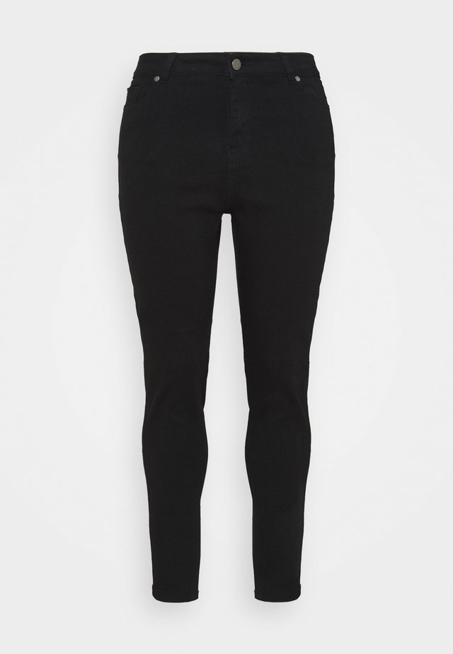 LUCY HIGH WAIST SKINNY - Jeans Skinny Fit - black