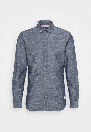 JORTONS MELANGE SLIM FIT - Košile - navy blazer