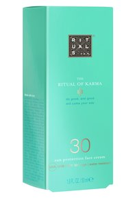 Rituals - THE RITUAL OF KARMA SUN PROTECTION FACE CREAM SPF 30 - Ochrona przeciwsłoneczna - - - 1