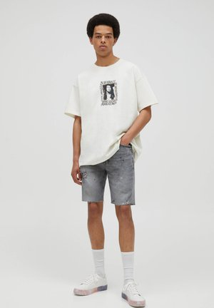 BOB MARLEY - Print T-shirt - white