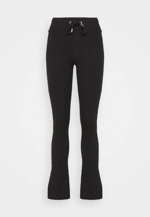 ELLA TROUSERS - Pantalon classique - black