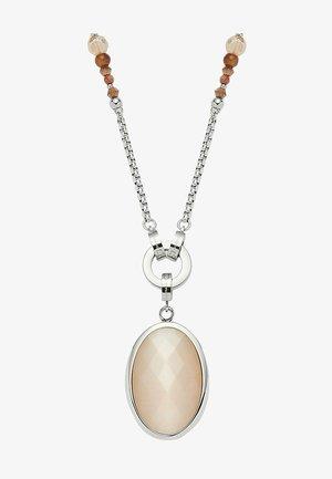 Necklace - beige