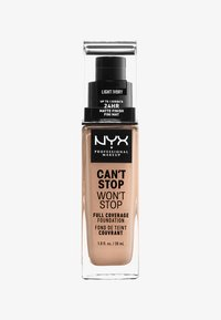 Nyx Professional Makeup - CAN´T STOP WON´T STOP 24H FOUNDATION - Foundation - 4 light ivory - 0