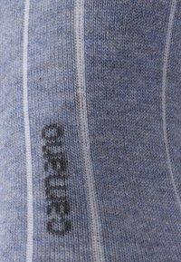 camano - SOFT SNEAKER BOX 7 PACK - Socks - denim melange/stone melange/navy - 3