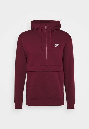 CLUB HOODIE - Sweat à capuche - dark beetroot