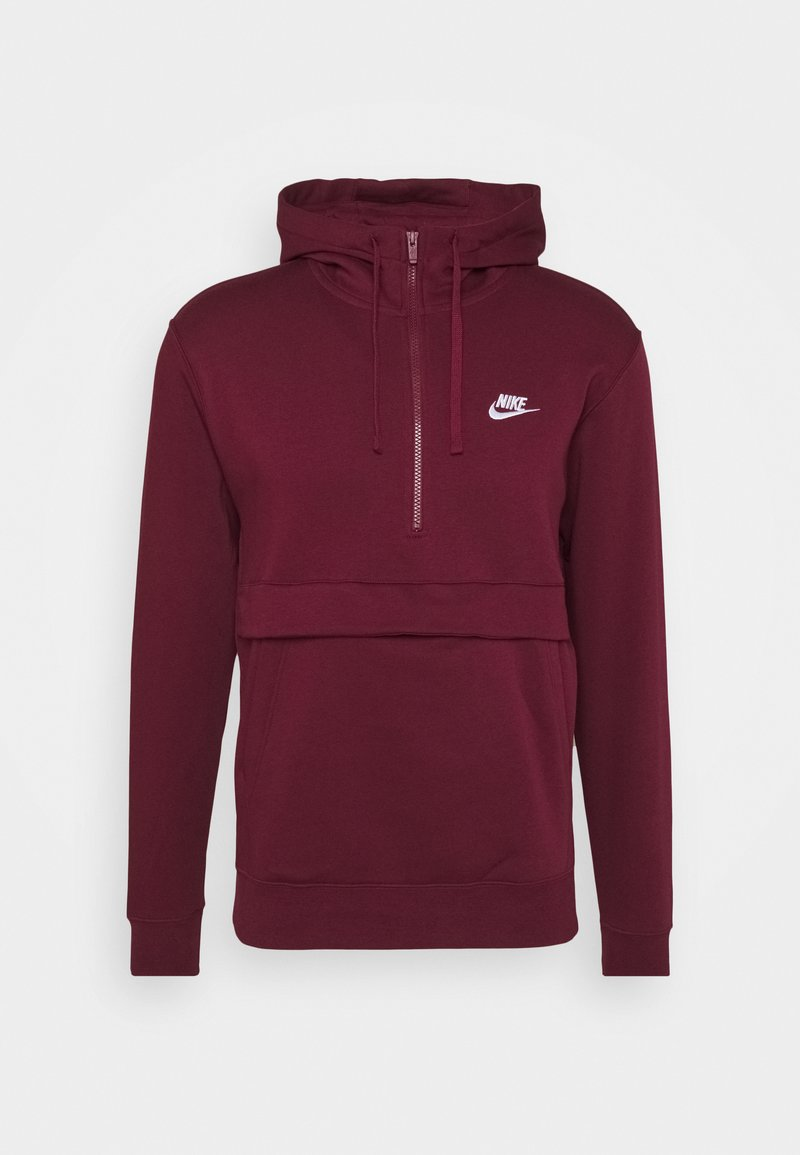 Nike Sportswear - CLUB HOODIE - Jersey con capucha - dark beetroot