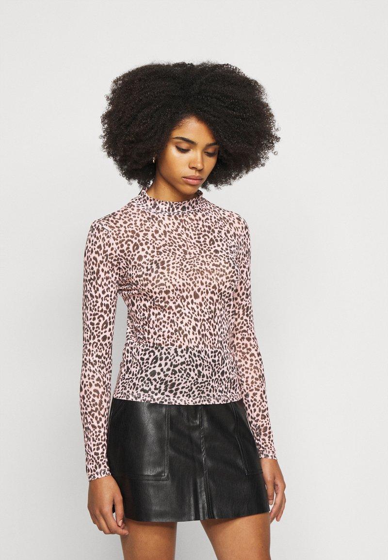 New Look Petite - ANIMAL  - Maglietta a manica lunga - pink