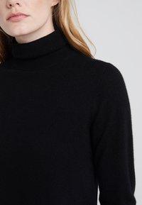 J.CREW - LAYLA TURTLENECK - Sweter - black - 4