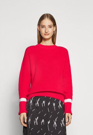 SIHAM - Strickpullover - bright red