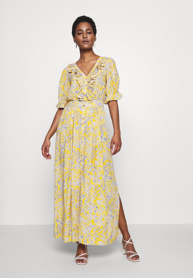 YASLEMINA ANKLE DRESS TALL - Robe longue - citrus