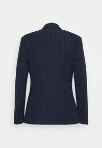 Isaac Dewhirst - THE FASHION SUIT PEAK WINDOW CHECK - Suit - dark blue - 14
