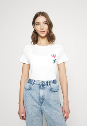 VMMILIZAFRANCIS  - T-shirts med print - snow white