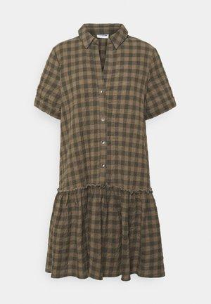 NMHANNIE SHORT DRESS - Shirt dress - kalamata