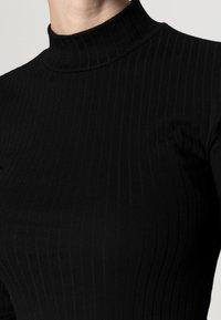 Even&Odd - BASIC - Žerzejové šaty - black - 5