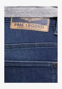 PME Legend - NIGHTFLIGHT - Denim shorts - dark used comfort - 3