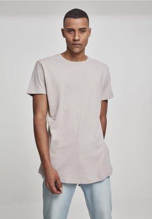 SHAPED LONG TEE DO NOT USE - T-shirt basic - sand