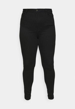 PCHIGHFIVE FLEX ULTRA HIGH NOOS  - Skinny džíny - black