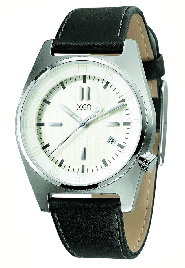 Horloge - schwarz/weiß