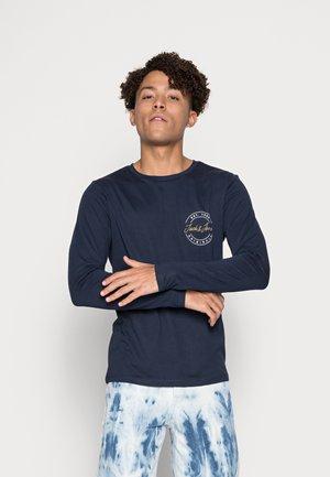 JORJERRY TEE CREW NECK  - Pitkähihainen paita - dark blue