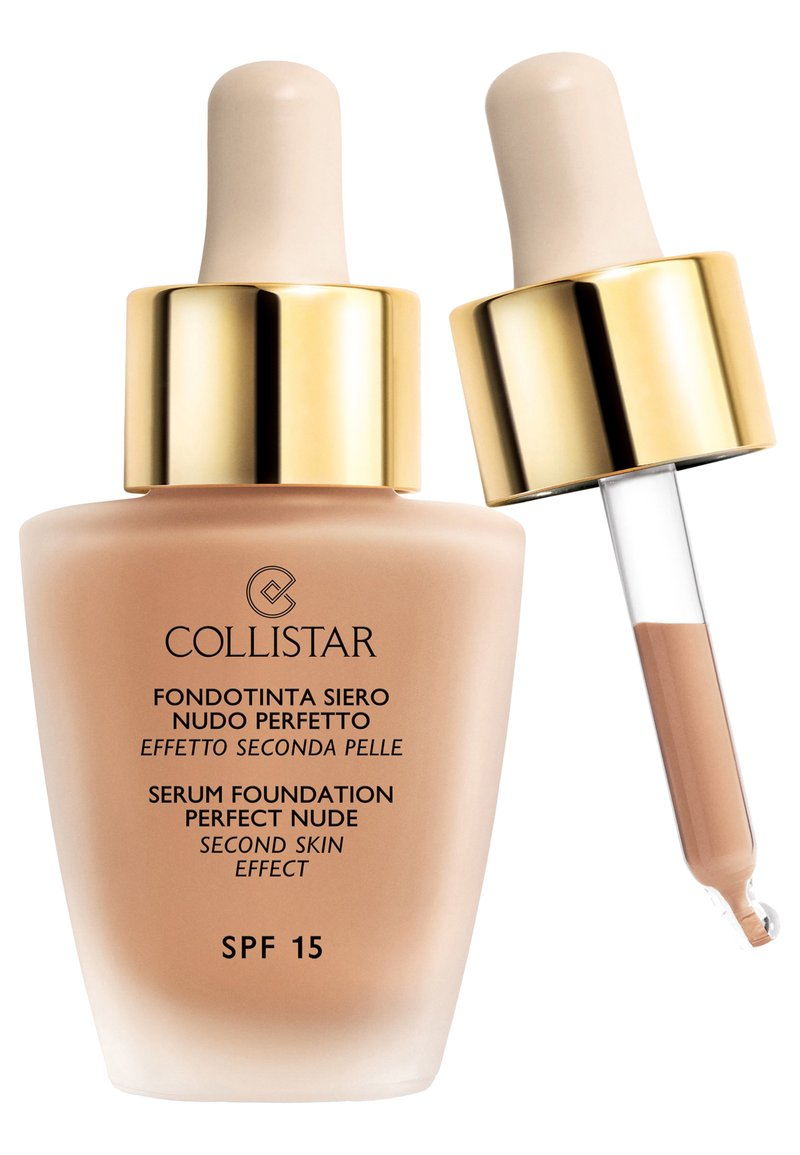 Collistar - SERUM FOUNDATION PERFECT NUDE - Foundation - n.7 biscuit