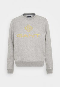 COLOR LOCK UP CNECK  - Sweatshirt - grey melange