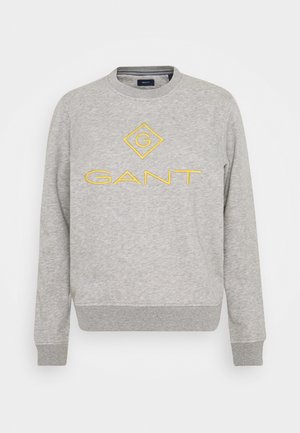 COLOR LOCK UP CNECK  - Sweatshirt - grey melange
