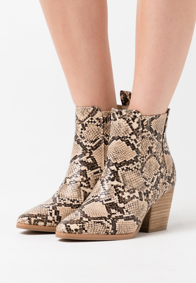 Rubi Shoes by Cotton On - JOLENE GUSSET - Ankle boots - beige