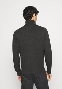Tommy Hilfiger - ROLL NECK - Pullover - charcoal heather - 2