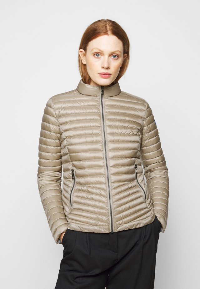 LADIES JACKET - Gewatteerde jas - toast/light steel