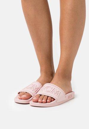 LOGO GROUP SLIDE - Sandaler - powder pink