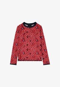 Steiff Collection - STEIFF COLLECTION UV SHIRT MIT UV-SCHUTZ - Rash vest - tango red - 0