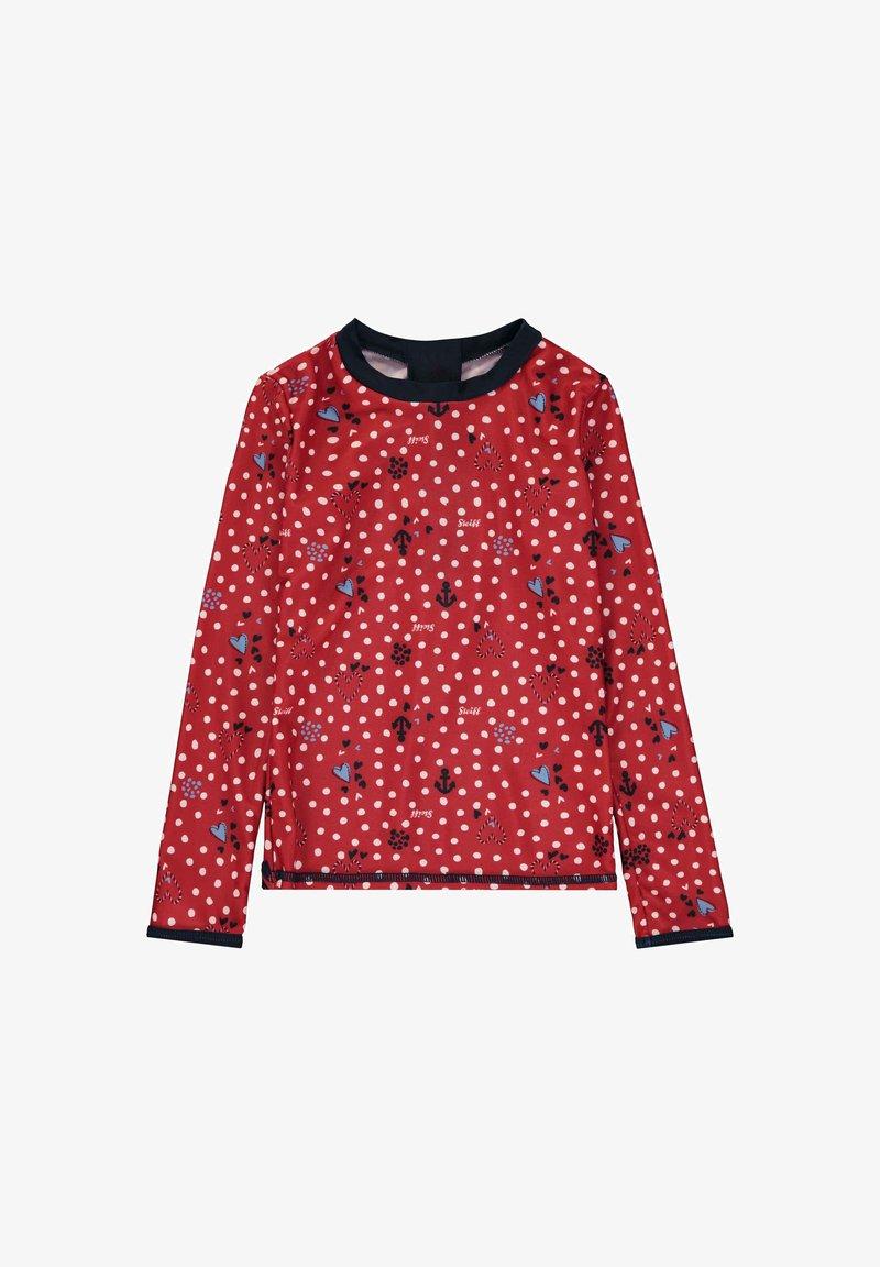 Steiff Collection - STEIFF COLLECTION UV SHIRT MIT UV-SCHUTZ - Rash vest - tango red