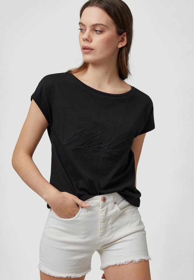 ESSENTIAL GRAPHIC  - T-shirt print - black out