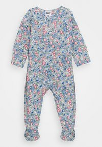 Cotton On - LONG SLEEVE ZIP ROMPER 2 PACK  - Dupačky na spaní - dusk blue annie/crystal pink matilda - 1